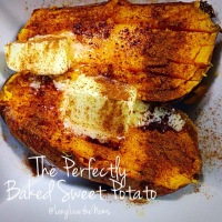 The Perfectly Baked Sweet Potato